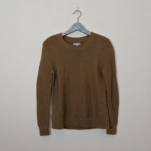 J. Crew Mercantile Tan Classic Crew Neck Sweater